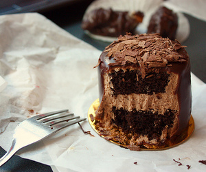 chocolate, delicious, and cake image