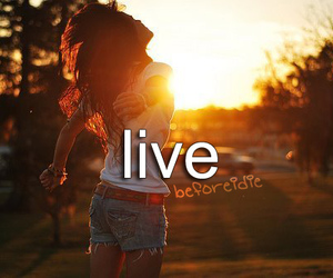 before i die and live image
