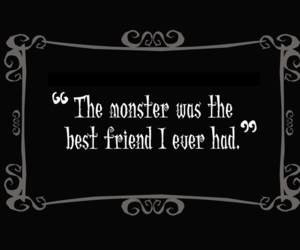monster and best friend image