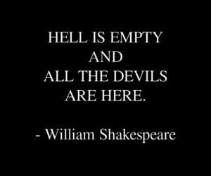 black, demons, and devils image