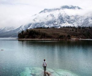 travel, explore, and lake image