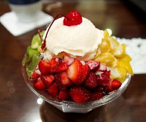 fruit, food, and ice cream image