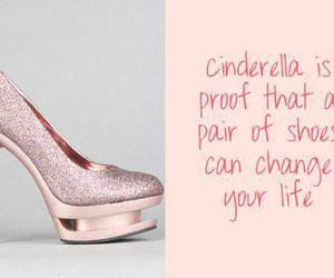 quote, cinderella, and shoes image