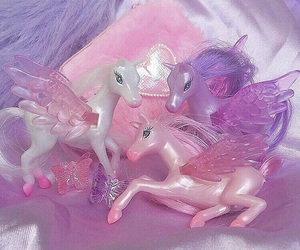 pink, pony, and purple image