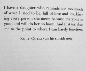 kurt cobain, suicide, and nirvana image