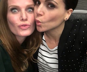 once upon a time, lana parrilla, and rebecca mader image