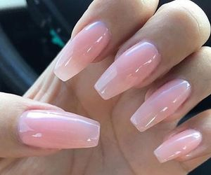 gorgeous, long nails, and pink image