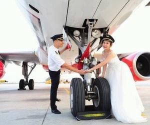 airplane, aviation, and husband image