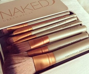 makeup, Brushes, and naked image