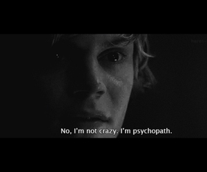 crazy, american horror story, and normal people scary me image