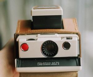 camera, polaroid, and vintage image