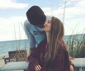 couple, kiss, and beautiful image