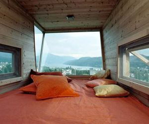 room, bed, and view image