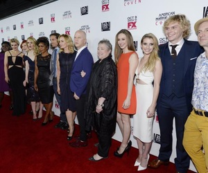 ahs, cast, and coven image