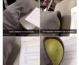 funny, student, and school image