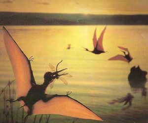 dinosaur, insects, and dinosaurs image