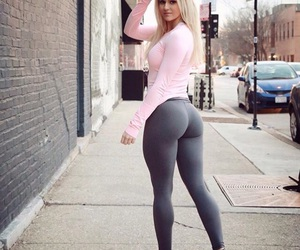 ass, fitness, and work image