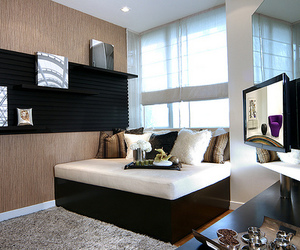 luxury, house, and bed image
