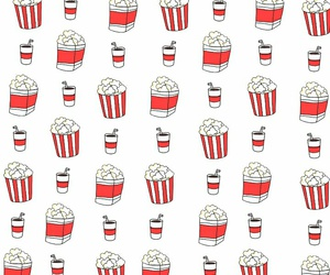 d, patterns, and popcorn image