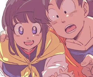 anime, dragon ball, and milk image