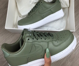 nike, shoes, and green image