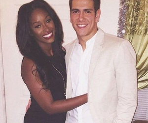 couple and interracial image
