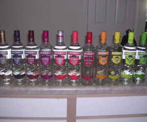 alcohol, vodka, and smirnoff image