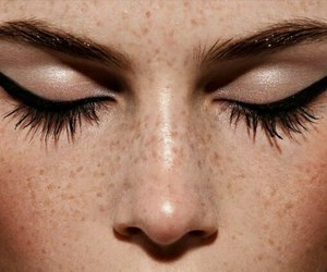 eyeliner, fashion, and make up image