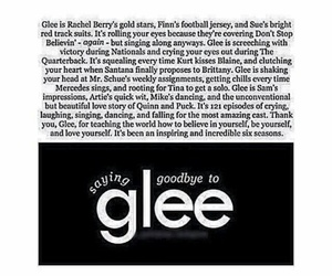 glee, lea michele, and Quinn image