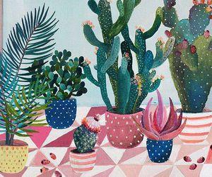 cactus, aesthetics, and art image