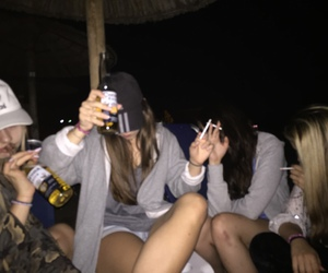 girl, party, and grunge image