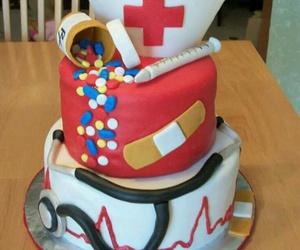 cake and nurse image