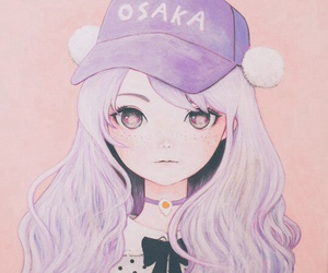 anime, pastel, and art image