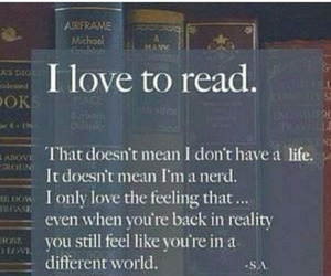 book, read, and life image