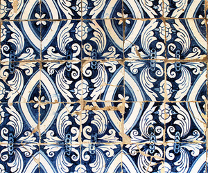 blue, pattern, and interior image
