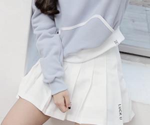 fashion, kfashion, and white image
