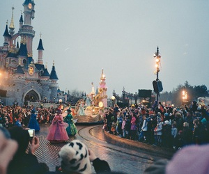 disneyland, disney, and paris image
