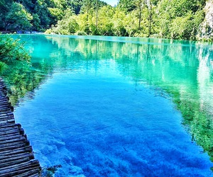 beautiful, plitvice lakes, and Croatia image