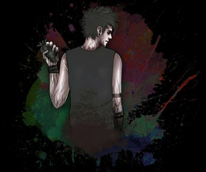 5sos, michael, and jet black heart image