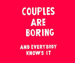 boring, couples, and text image