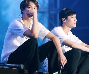 kai, exo, and lay image