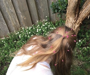 flowers, bambi, and hair image