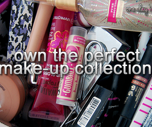 collection, make up, and quotes image