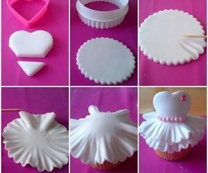 cupcake, diy, and dress image