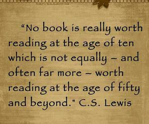 book, c.s. lewis, and quote image