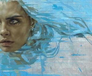 art, cara delevingne, and model image
