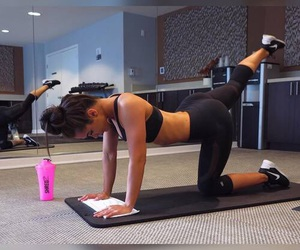 fitness, workout, and fit image