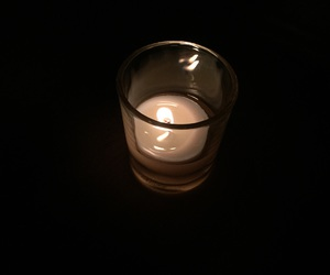 candle, Darkness, and picture image