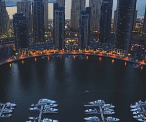 city, lake, and luxe image
