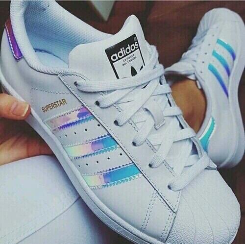 adidas, white, and superstars image
